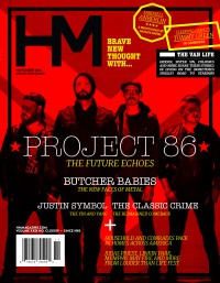 Cover of HM, Nov 2014 #184, featuring Project 86