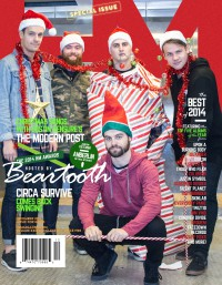 Cover of HM, Dec 2014 #185, featuring Beartooth