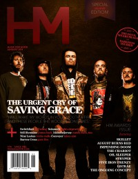Cover of HM, Jan 2014 #174, featuring Saving Grace