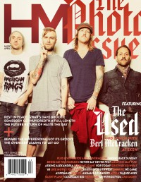 Cover of HM, Apr 2014 #177, featuring The Used