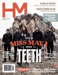 Cover of HM, May 2014 #178, featuring Miss May I