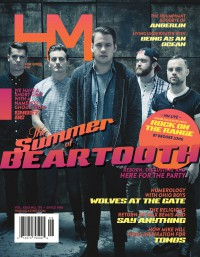 Cover of HM, Jun 2014 #179, featuring Beartooth