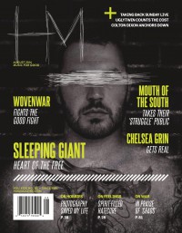Cover of HM, Aug 2014 #181, featuring Sleeping Giant
