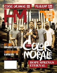 Cover of HM, Sep 2014 #182, featuring The Color Morale