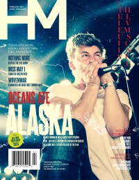 Cover of HM, Feb 2015 #187, featuring Oceans Ate Alaska