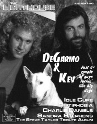 Cover of The Lighthouse, Jun 1994 v. 3, i. 6, featuring DeGarmo and Key