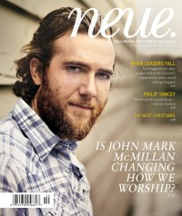 Cover for Fall 2010, featuring John Mark McMillan