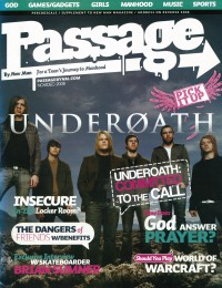 Cover of Passage, Nov / Dec 2006 #2, featuring Underoath