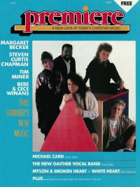 Cover of Premiere, 1988 v. 2, i. 2, featuring Sparrow New Music Summer