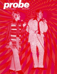 Cover of Probe, Feb 1973 v. 3, i. 5, featuring Russ and Helen Cline