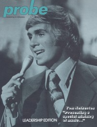 Cover of Probe, Jan 1977 v. 7, i. 4, featuring Tom Netherton