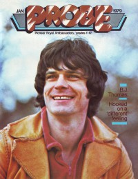 Cover for January 1979, featuring B. J. Thomas