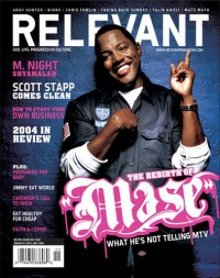 Cover for November 2004, featuring Mase