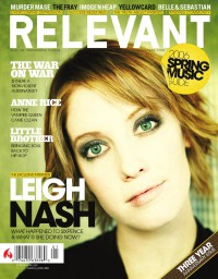 Cover for March 2006, featuring Leigh Nash