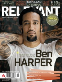 Cover for September 2007, featuring Ben Harper