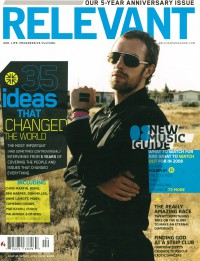 Cover of Relevant, Mar / Apr 2008 #32, featuring Bono