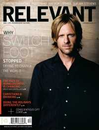 Cover for November 2009, featuring Jon Foreman (Switchfoot)