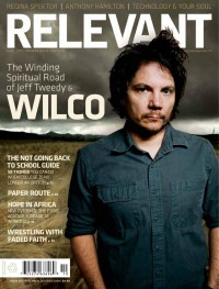 Cover of Relevant, Sep / Oct 2009 #41, featuring Wilco (Jeff Tweedy)