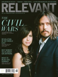 Cover of Relevant, Jul / Aug 2011 #52, featuring The Civil Wars