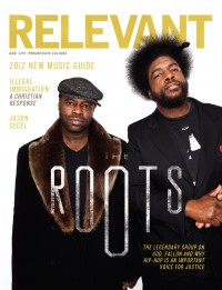 Cover of Relevant, Mar / Apr 2012 #56, featuring The Roots