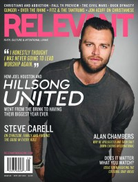 Cover of Relevant, Sep / Oct 2013 #65, featuring Joel Houston (Hillsong United)