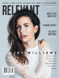 Cover of Relevant, Jul / Aug 2015 #76, featuring Joy Williams