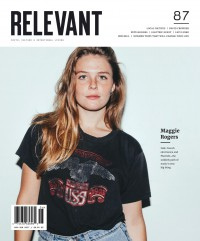 Cover of Relevant, May / Jun 2017 #87, featuring Maggie Rogers