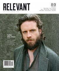Cover of Relevant, Sep / Oct 2017 #89, featuring Father John Misty
