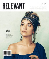 Cover of Relevant, Nov / Dec 2018 #96, featuring Lauren Daigle