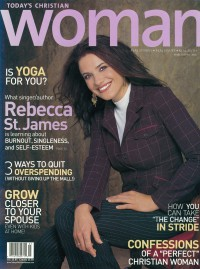 Cover for March 2005, featuring Rebecca Saint James