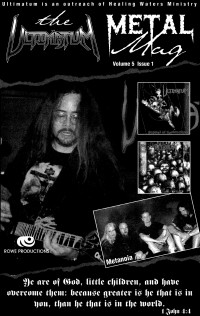 Cover of The Ultimatum Metal Mag, Spr 1999 v. 5, i. 1