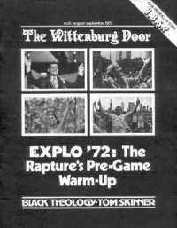 Cover of The Wittenburg Door, Aug / Sep 1972 #8, featuring Explo '72