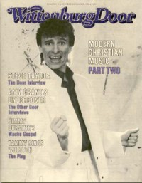 Cover of The Wittenburg Door, Oct / Nov 1984 #81, featuring Steve Taylor