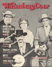 Cover of The Wittenburg Door, Aug / Sep 1984 #80, featuring The Wauhobs