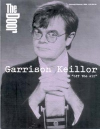 Cover for January 1996, featuring Garrison Keillor