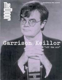 Cover of The Wittenburg Door, Jan / Feb 1996 #145, featuring Garrison Keillor