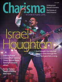 Cover of Charisma, Jun 2009 v. 34, i. 11, featuring Israel Houghton