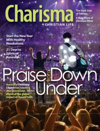 Cover of Charisma, Jan 2010 v. 35, i. 6, featuring Hillsong
