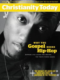 Cover of Christianity Today, May 2013 v. 57, i. 4, featuring Lecrae