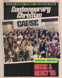 Cover of CCM, Jun 1985 v. 7, i. 12, featuring The Cause