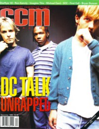 Cover of CCM, Dec 1995 v. 18, i. 6, featuring dc Talk