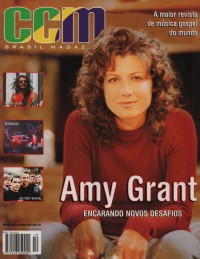 Cover of CCM Brasil, 2000 v. 3, i. 10, featuring Amy Grant