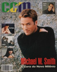 Cover of CCM Brasil, 2000 v. 3, i. 9, featuring Michael W. Smith