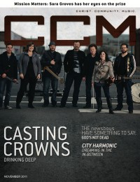 Cover of CCM Digital, Nov 2011, featuring Casting Crowns