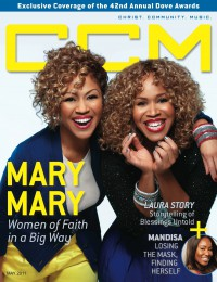 Cover of CCM Digital, May 2011, featuring Mary Mary