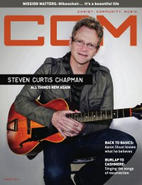 Cover of CCM Digital, Aug 2011, featuring Steven Curtis Chapman