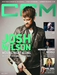 Cover of CCM Digital, 1 Aug 2015, featuring Josh Wilson