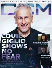 Cover of CCM Digital, 15 Feb 2016, featuring Louie Giglio