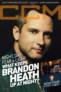 Cover of CCM Digital, 15 Nov 2017, featuring Brandon Heath