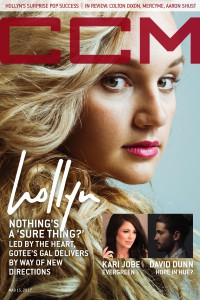 Cover of CCM Digital, 15 Mar 2017, featuring Hollyn